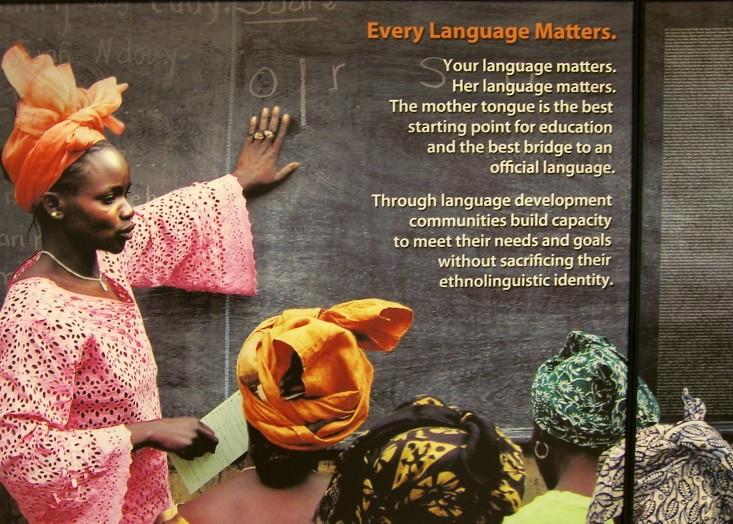 language diversity, all languages matter